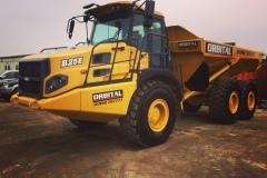25-ton-Bell-Dump-truck-