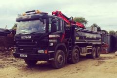 Grab-Lorry