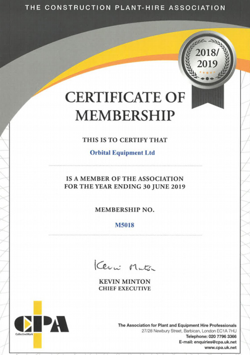 CPA Certificate