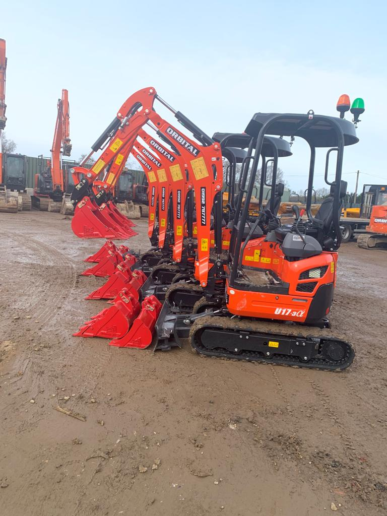 Mini Digger Hire Harlow